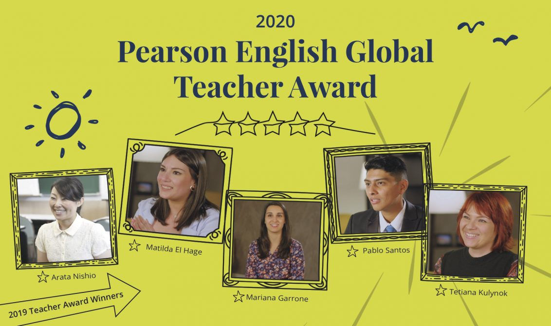 Pearson English Global Teacher Award 2020 judges