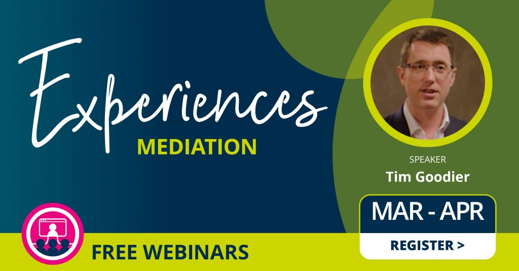 Teaching Mediation with Tim Goodier