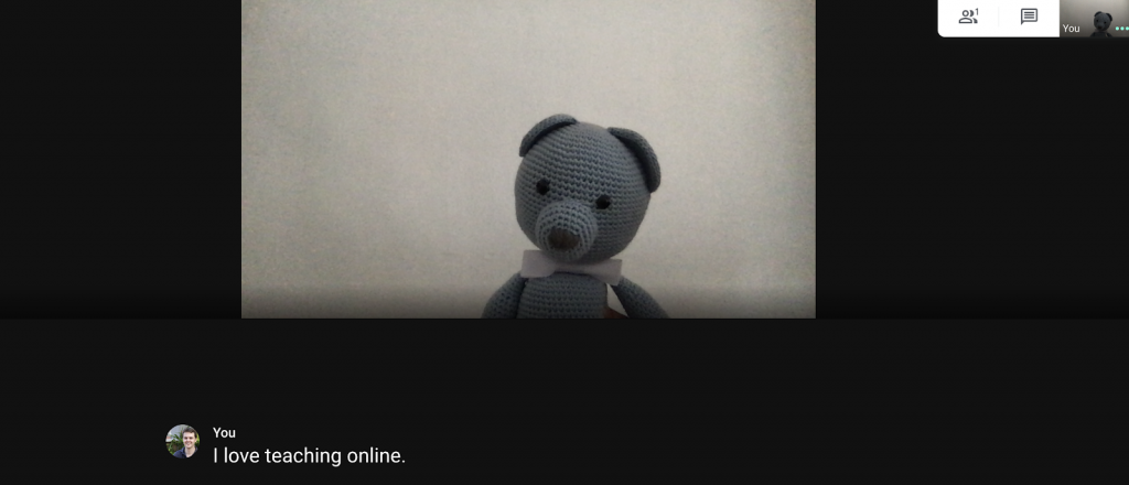 Teaching English Online with Google Hangouts