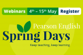 Pearson English Spring Days