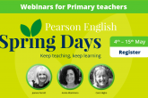 Pearson English Spring Days Primary Sessions