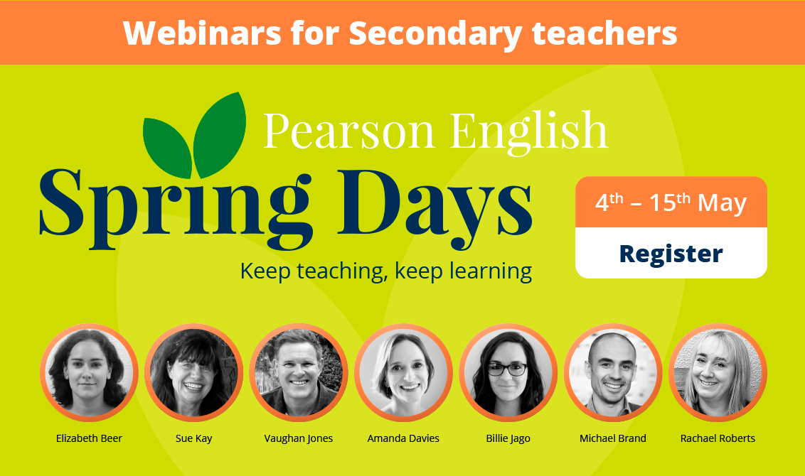 Pearson English Spring Days: Secondary Sessions