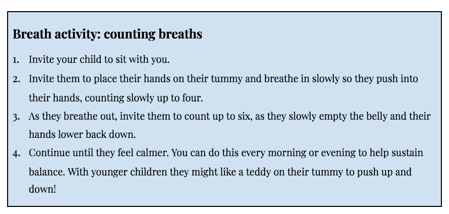 Counting Breaths Activity
