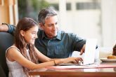 Parents using the Pearson English Portal