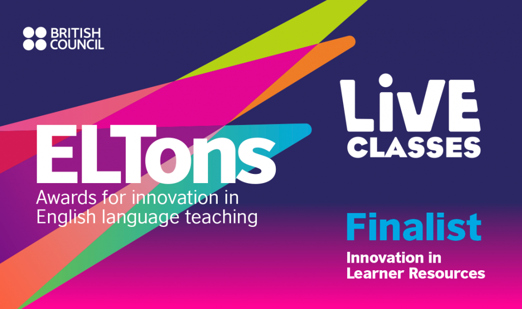 ELTon Innovation Awards 2020 Live Classes