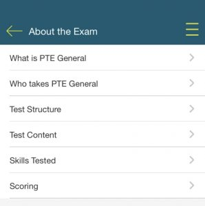 Find out about the exam with Pearson English Warm up