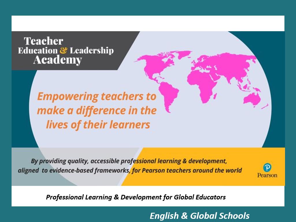 Pearson Teacher Education & Leadership Academy (TELA)