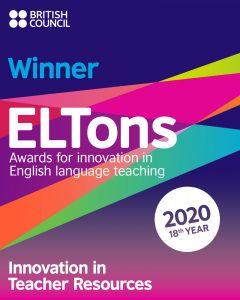 Live Classes ELTons Winner 2020