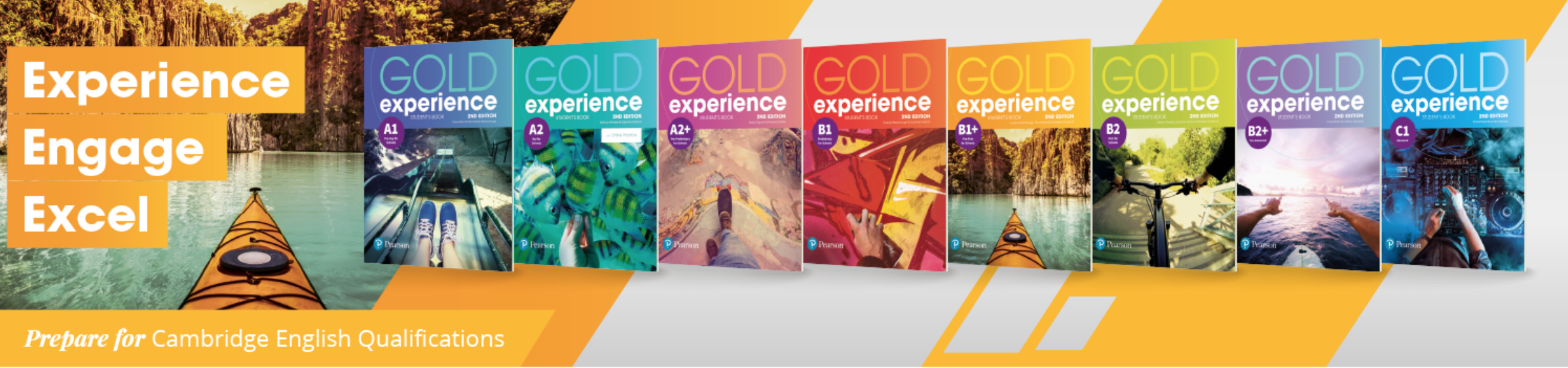 Teach exam classes online with Gold Experience 2nd Edition
