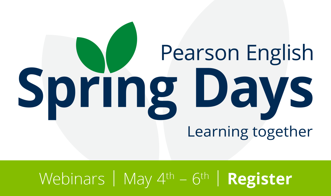 Pearson English Spring Days 2021 Webinar series