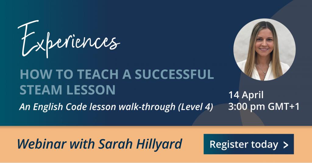 Webinar STEAM lesson Sara Hillyard