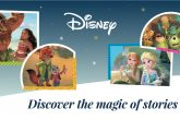 Poster for Disney kids Readers ft Frozen, Moana and Zootopia characters