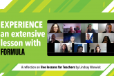 Live Lesson Zoom class screenshot of participants